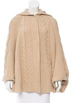 Salvatore Ferragamo Wool & Cashmere-Blend Cape