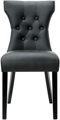 Modway Silhouette Tufted Dining Side Chair