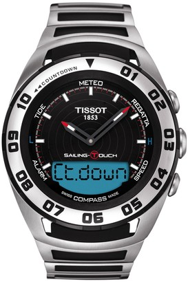 Tissot Men's Sailing-Touch Bracelet Watch, 45mm