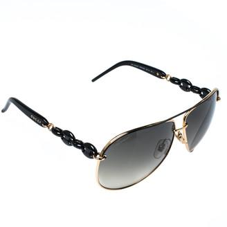 Gucci Gold Tone/ Grey Gradient GG 4225/S Aviator Sunglasses