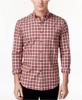 Club Room Men's Tartan Plaid Shirt, Only at Macy's