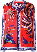 Emilio Pucci floral print shirt