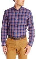 Cutter & Buck Men's Long Sleeve Kenyon Plaid Shirt