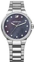 Swarovski City Silvertone Stainless Steel Bracelet Watch, 5205990