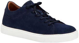 Aquatalia Men's Alaric Weatherproof Suede Low-Top Sneakers