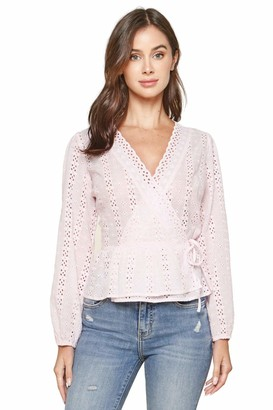 Sugar Lips Sugarlips Women's Bootsy Eyelet Wrap Top