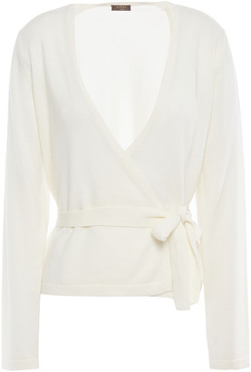 N.Peal Cashmere Wrap Sweater