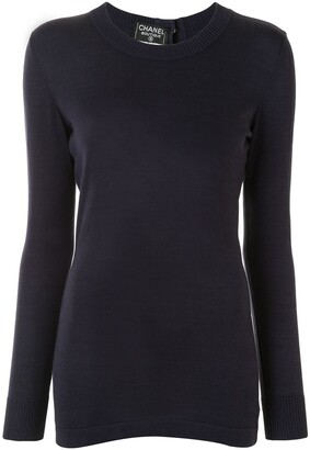 Chanel Pre Owned Round Neck Jumper