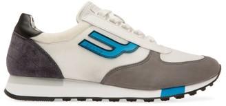 Bally Gavino Mixed-Media Logo Sneakers