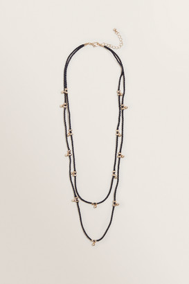 Seed Heritage Cord Necklace