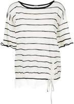 Twin-Set scalloped lace T-shirt