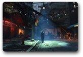 "Hzlswy Fallout 4 Trailer Custom Doormat (23.6""x15.7"")"