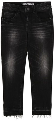 Zadig & Voltaire Distressed Jeans (6-16 Years)