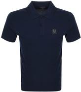 Belstaff Stannett Polo T Shirt Navy