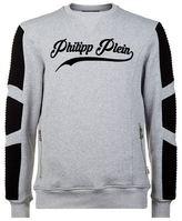 Philipp Plein Logo Moto Sweatshirt