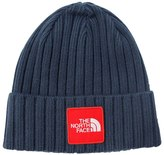 The North Face Logo Boxed Cuffed Knit Beanie Hat