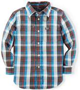 Ralph Lauren Little Boys' Plaid Shirt