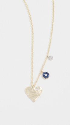 Meira T 14k Heart Necklace