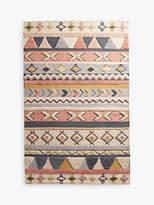 Anthropologie Kaya Woven Wool Rug, L130 x W80cm