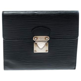 Louis Vuitton Black Leather Small bags, wallets & cases