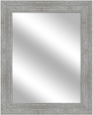 PTM Images Over the sink Vanity Mirror, Gray Wash, 25.5x31.5