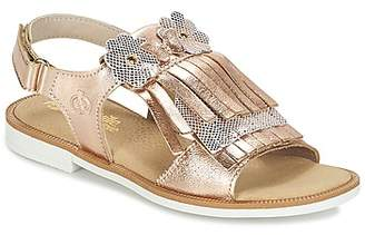 Citrouille et Compagnie IELIYA girls's Sandals in Gold