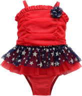 Asstd National Brand Solid One Piece Swimsuit Toddler