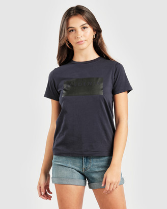 RES Denim Women's Blue T-Shirts & Singlets - Res Box Tee - Size One Size, XS at The Iconic