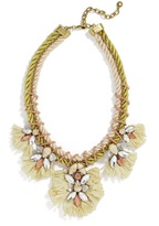 BaubleBar Eshe Raffia Statement Necklace