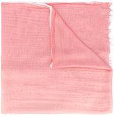 Faliero Sarti raw hem scarf - men - Silk/Modal - One Size