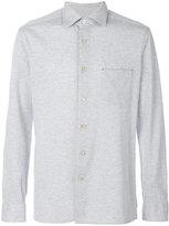 Kiton piqué shirt - men - Cotton - L