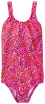 Billabong Penny Paisley One-Piece Swimsuit (Little Girls & Big Girls)