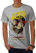 Fighting Rooster Fashion Men XXXL T-shirt | Wellcoda