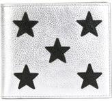 Saint Laurent star patch wallet - men - Leather - One Size