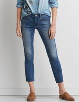 American Eagle Outfitters AE Denim X Caf? Straight Crop
