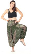 CandyHusky Beach Summer Baggy Hippie Boho Yoga Harem Pants & Jumpsuit