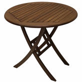 OUTDOOR INTERIORS Outdoor Interiors 30 in. Brazilian Eucalyptus Table