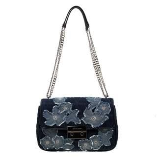 Michael Kors Vivianne Blue Denim - Jeans Handbags