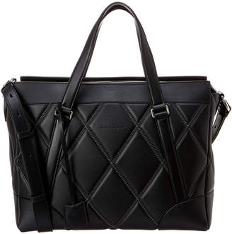 Salvatore Ferragamo Dynamo Leather Briefcase