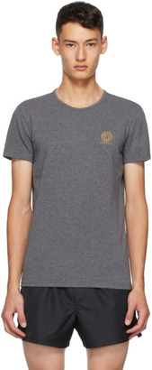 Versace Underwear Grey Medusa T-Shirt