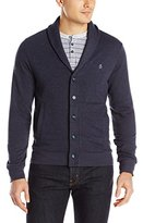Original Penguin Men's Nep Fleece Cardigan