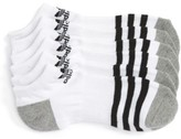 adidas Boy's 3-Pack Original Cushioned No-Show Socks