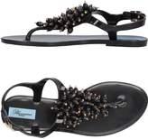 Blumarine Toe strap sandals