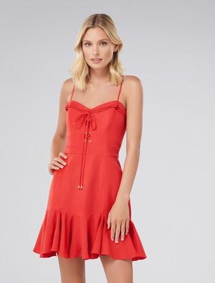 Ever New Ella Lace-Up Flippy Dress