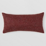 "Bloomingdale's 1872 Allover Beaded Decorative Pillow, 11"" x 22 Exclusive"