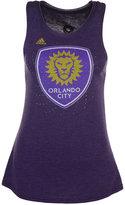 adidas Women's Orlando City SC Logo Glitz Tank Top