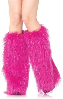 Leg Avenue Women's Furry Lurex Leg Warmers