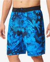 Speedo Men's Daub Floral E-Board 9'' Swim Trunks