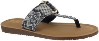 Bella Vita Leather Thong Sandals- Jan-Italy