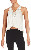 Betsey Johnson Lace Crop Top